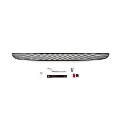 Сетка на бампер внешняя для Ford EcoSport 2014-, чёрная, 10 мм