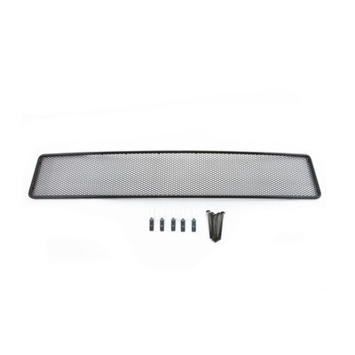 Сетка на бампер внешняя для Ford Explorer 2012-2015, чёрная, 10 мм