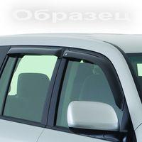 Дефлекторы окон Ford Ranger IV Double Cab 2012-, ветровики накладные