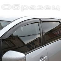 Дефлекторы окон Chevrolet Aveo I 2006-2011 седан, ветровики накладные