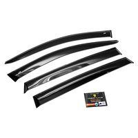 Дефлекторы окон для Kia Quoris 2012-, K9 2012-, ветровики накладные