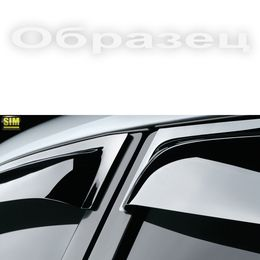 Дефлекторы окон Mercedes-Benz E-Class 1995-2002, кузов W210 седан, ветровики накладные