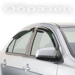 Дефлекторы окон для BMW 7 series F01, F02 2008- с хромированным молдингом