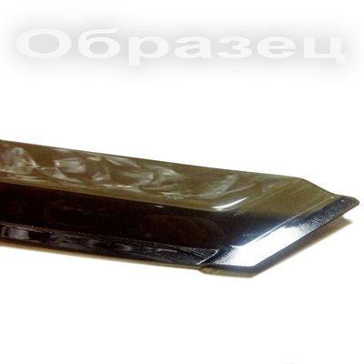Дефлекторы окон для Kia Rio II 2005-2009, 2009-2011 седан, ветровики накладные