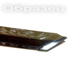 Дефлекторы окон для Geely EmGrand EC7 2012- хэтчбек широкие, ветровики накладные