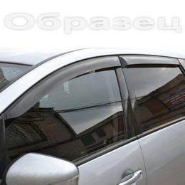 Дефлекторы окон Chevrolet Niva 2002-2009, 2009- кварц, ветровики накладные