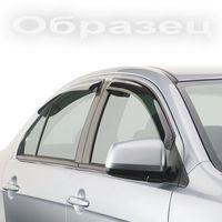 Дефлекторы окон для Honda Accord 2013- с хромированным молдингом