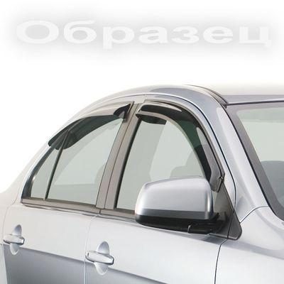 Дефлекторы окон Kia Optima 2013- SD с хромированным молдингом
