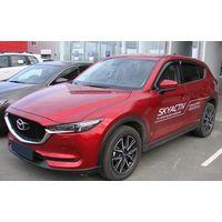 Дефлекторы окон Mazda CX-5 2017-, ветровики накладные