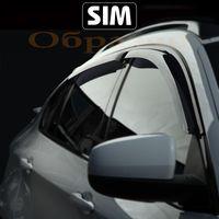Дефлекторы окон для KIA MAGENTIS, OPTIMA II 2005-2010, ветровики накладные