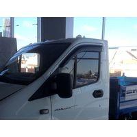 Дефлекторы окон для ГАЗ ГАЗель NEXT 2013-, ветровики накладные