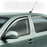Дефлекторы окон (Ветровики) на Mitsubishi Lancer10 07- SD (Комплект)