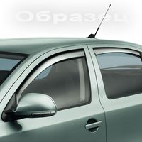 Дефлекторы окон (Ветровики) на Volvo XC60 08~ (Комплект)