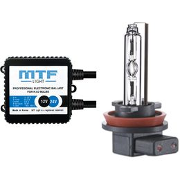 Биксенон MTF Light 35W Classic H4 (2 блока, 2 лампы, проводка)