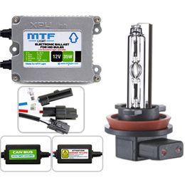 """Биксенон MTF Light 35W Slim XPU1235CB с """"обманкой"""" H4 (2 блока, 2 лампы, проводка)"""