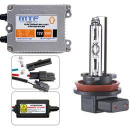 Биксенон MTF Light 35W Slim XPU1235 H4 (2 блока, 2 лампы, проводка)