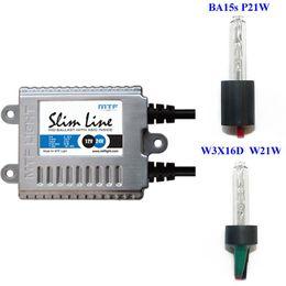 Ксенон MTF Light 25W Slim (A0025) 70V/25W без цоколя W21W/T20 (короткая база), P21W/1156 (длинная база), в фонари заднего хода