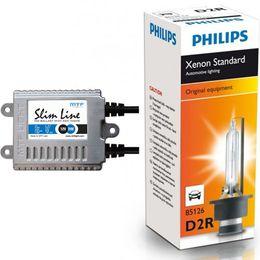 Ксенон MTF Light 35W Slim  с колбами PHILIPS H1, H7, H11, HB4, HB3 (2 блока, 2 лампы)