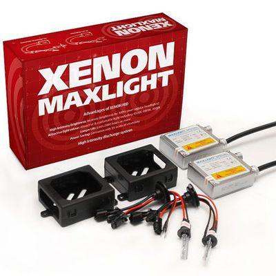 Биксенон MaxLight Slim HB5 9007 H/L (2 блока, 2 лампы, проводка)