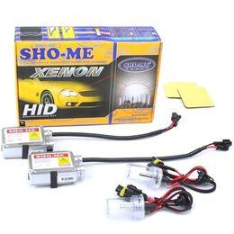 Биксенон Sho-Me H4 (2 блока, 2 лампы, проводка)