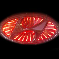 Hyundai  Elantra 3D Красный