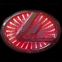 Lexus 3D Красный