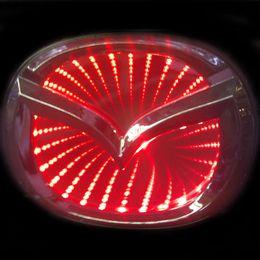 Mazda 3D Красный