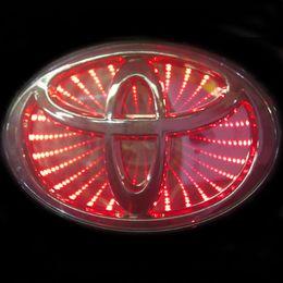 Toyota 3D Красный