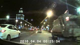 ArtWay AV-513 Пример съемки видеорегистратора (ночь)
